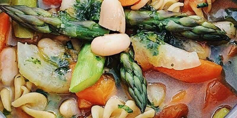 Minestrone Gemüsesuppe
