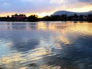 Kampot Sonnenuntergang