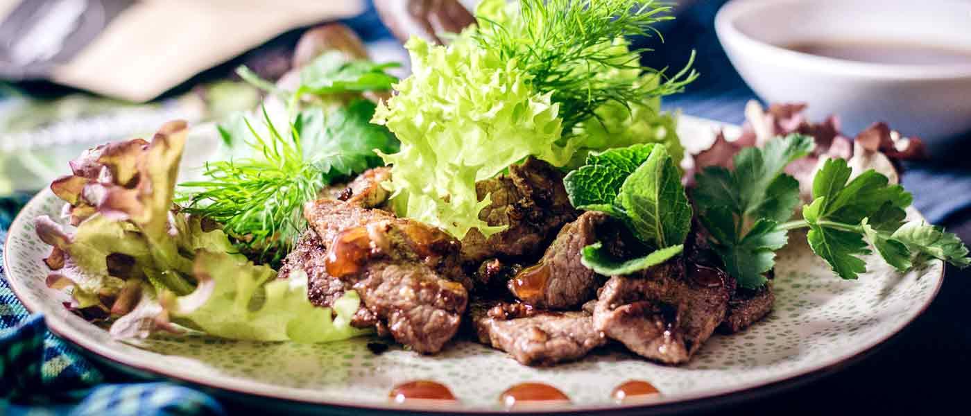 Beef Lok Lak Rezept num Selberkochen