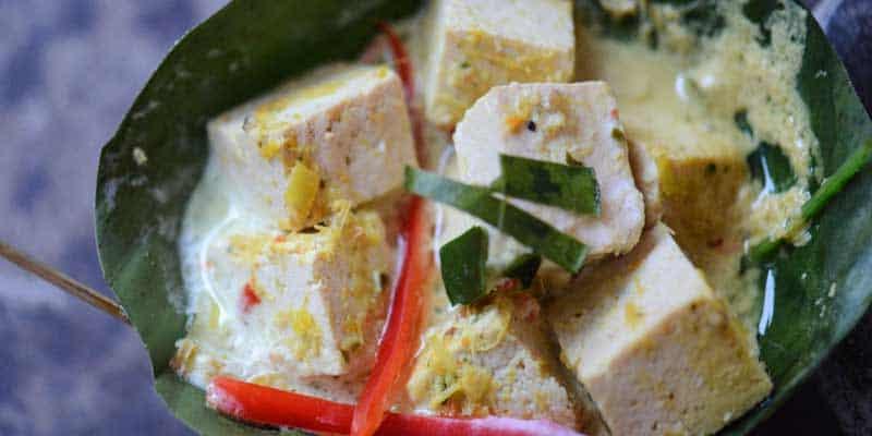 Amok vegetarisch mit Tofu