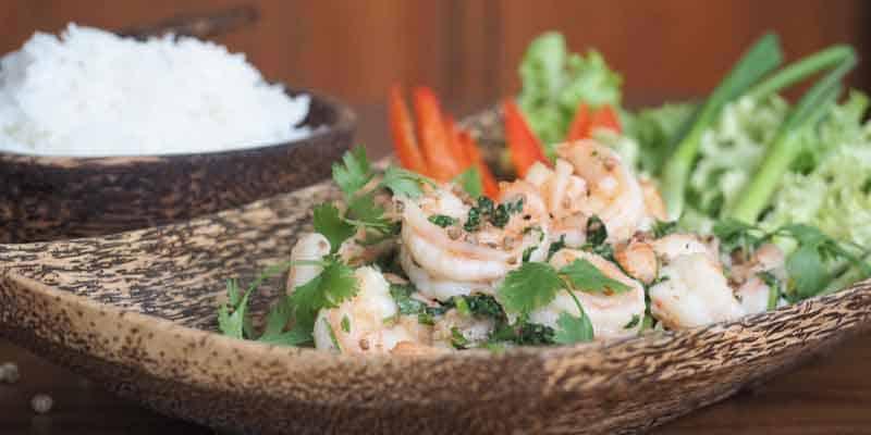 Rezept: Gebratene Garnelen auf asiatische Art