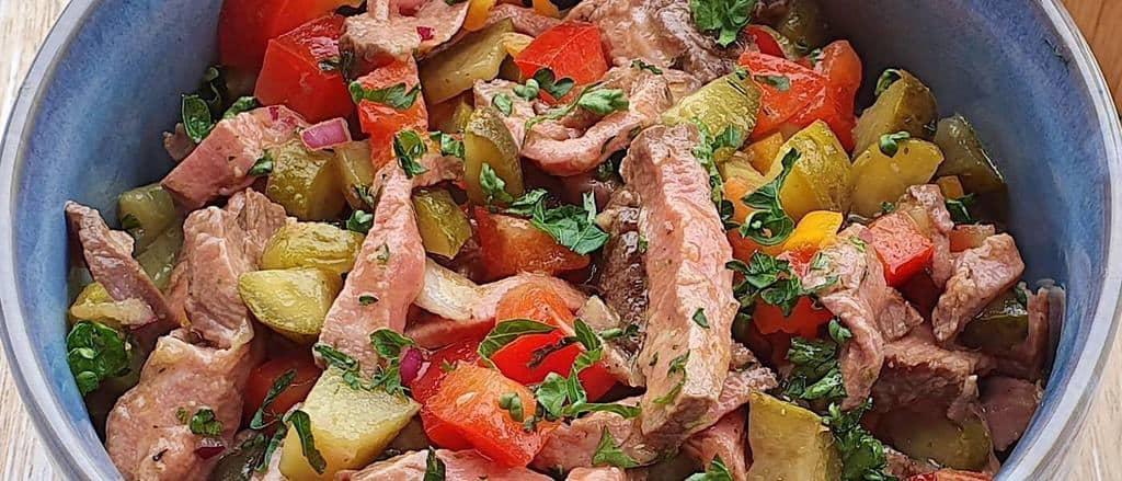 Rezept Rindfleischsalat