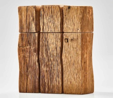 Pfeffermühlen Set aus Massivholz Eiche