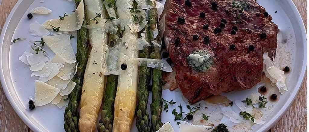 Rezept Rinderfilet mit Spargel