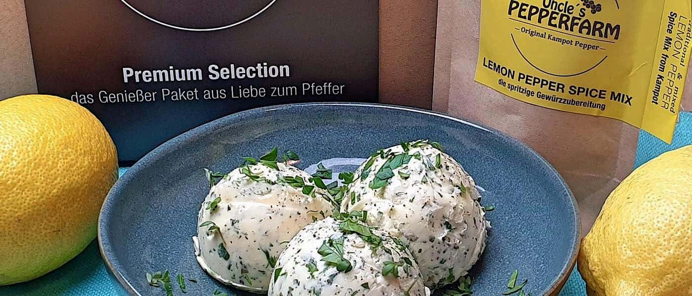 Zitronen Kräuterbutter
