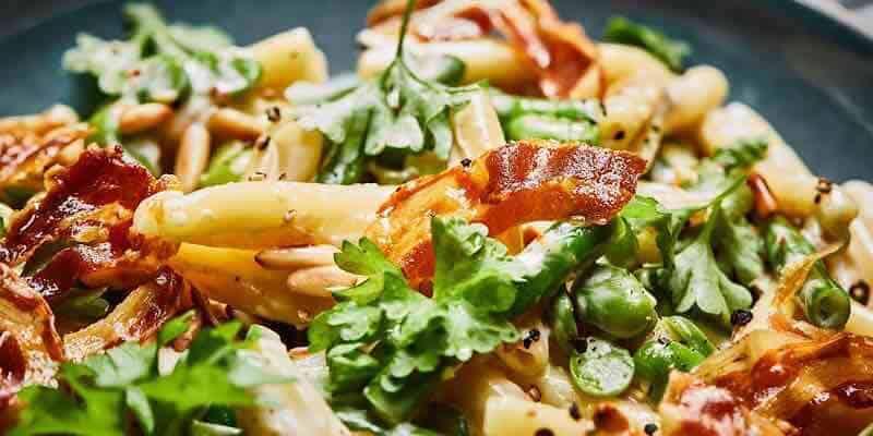 Pancetta-Nudeln mit Kampot Pfeffer