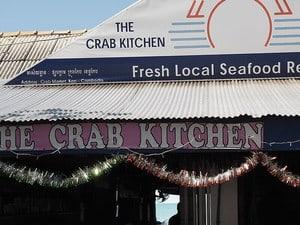 Kep Crabmarket Kambodscha