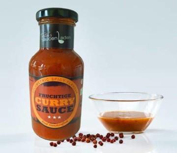 Curry Sauce mit rotem Kampot Pfeffer