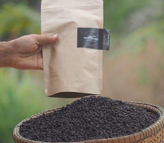 Schwarzer Pfeffer aus Kampot