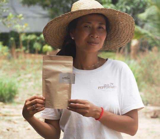 Weisser Pfeffer aus Kampot