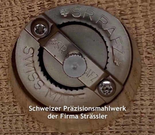 Schweizer Präzisionsmahlwerk Strässler