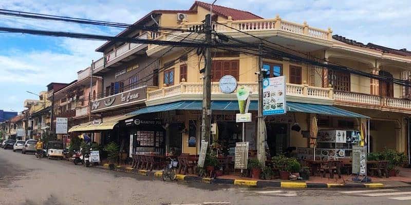 Französisches Viertel Kampot