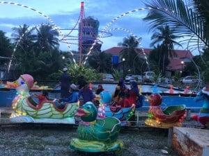 Playground for children in kampot
